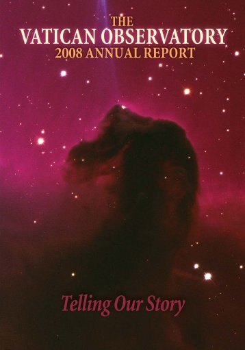 Annual Report 2008 - Vatican Observatory