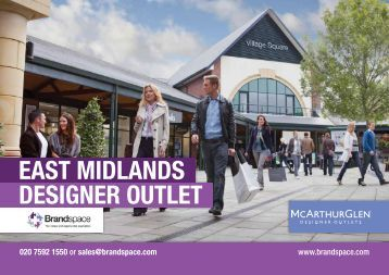 EAST MIDLANDS DESIGNER OUTLET - Brandspace