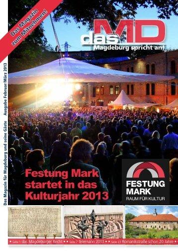Festung Mark startet in das Kulturjahr 2013