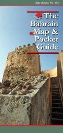 The Bahrain Map & Pocket Guide - Red House Marketing