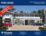 FOR LEASE 2410 Lillie Avenue, Summerland Retail Space - Hayes ...