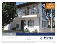 For Sale For Sale - Hayes Commercial Group