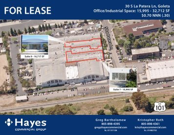 Suite 9: 16717 SF - Hayes - Commercial Real Estate