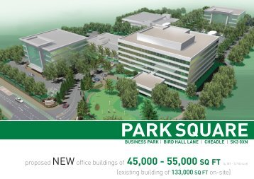 Park Square Design and Build Brochure - Orbit Developments