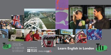 Brochure - Tti School of English