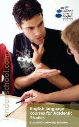 English language courses for Academic Studies - EducationCamp