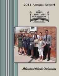 2011 Annual Report - Tiffin Charitable Foundation
