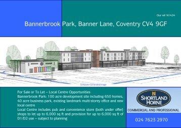 Bannerbrook Park, Banner Lane, Coventry CV4 9GF
