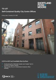 TO LET Self-Contained Quality City Centre Offices