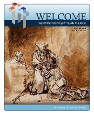 June 24, 2012 - Westminster Presbyterian Church