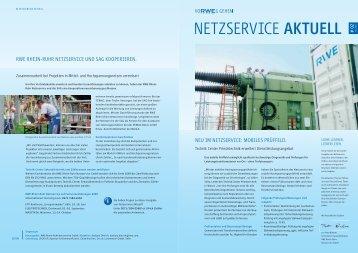 Ausgabe 2, 05/2009 - RWE Rhein-Ruhr Netzservice