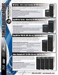 TOWER DUPLICATORS - Total Media, Inc.