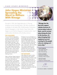 John Hagee Ministries – Spreading the Word to ... - Data Direct