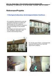 Referenzen/Projekte