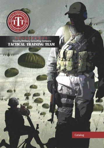 Tactical Training Team Catalogue