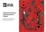 Cultural Awareness Self-Assessment Toolkit - ACT Council of Social ...