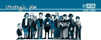 strategic plan 05 - ACT Council of Social Service