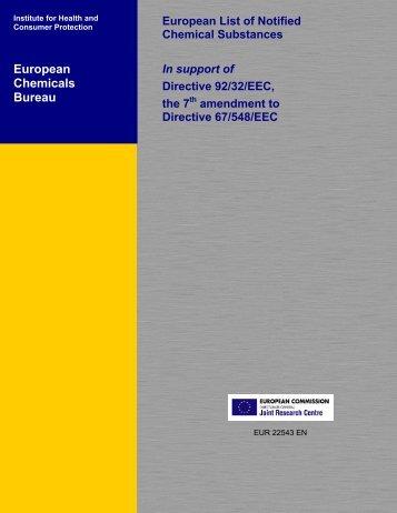 European Chemicals Bureau