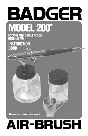 Model 200 Instruction Book - RAU+CO