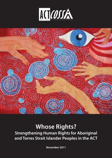 Whose Rights? - ACT Council of Social Service