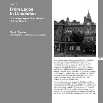 From Lagos to Llandudno - Engage