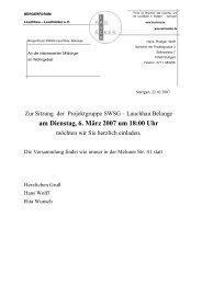 Einladung Bewohner im Lauchhau SWSG 06. März 2007 - Home ...