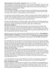 Thomas Bernhard- Ein literarischer Außenseiter ORF 1 am 12.2 ...