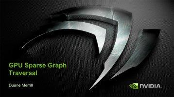 GPU Sparse Graph Traversal