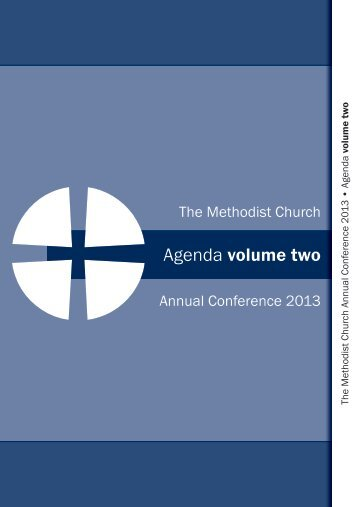 Agenda Volume 2 - Methodist Conference