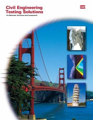 Civil Engineering Testing Solutions - MTS