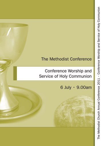 Order of Service - Methodist Conference