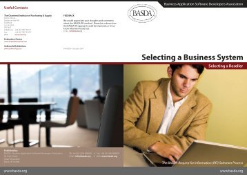 Selecting a Business System 2007 - UK PLC Client Images directory