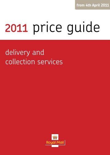 Royal Mail Price Guide