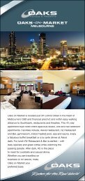Melbourne's - Oaks Hotels & Resorts
