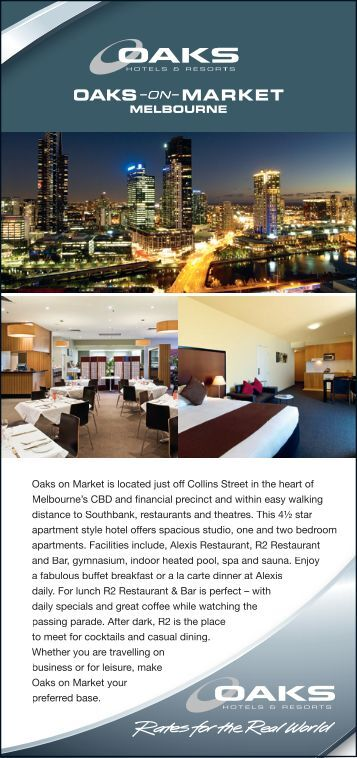 Melbourne's - Oaks Hotels & Resorts