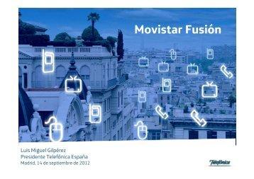 Movistar Fusión - Sala de prensa - Telefónica