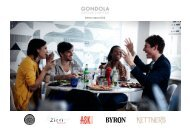 Interim report 2012 - Gondola Holdings