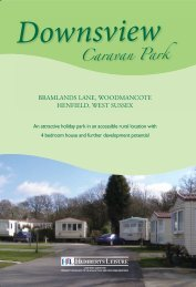 Downsview Caravan Park - HLL Humberts Leisure