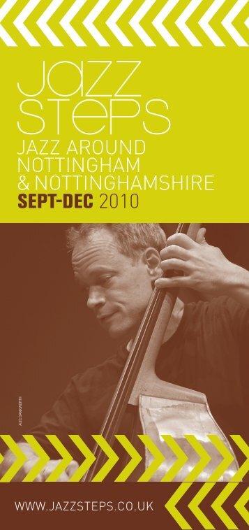 jazz around nottingham &nottinghamshire sept-dec 2010 - Jazz Steps