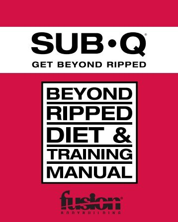 Arnold schwarzenegger blu subq beyond ripped diet training manual fusion vip fusion malvernweather Gallery