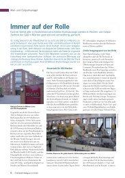 Immer auf der Rolle - Müller Apparatebau GmbH