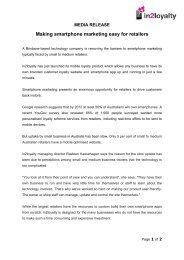 Media-Release-In2Loyalty-launch