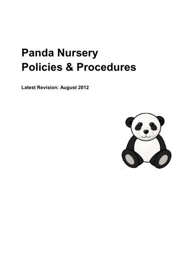 Church Nursery Policies And Procedures ~ TheNurseries