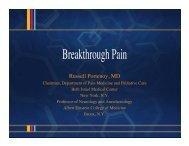 Breakthrough Pain - Dolor Irruptivo.com