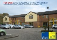 FOR SALE LONG LEASEHOLD OFFICE INVESTMENT - Propex