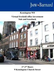 Kensington W8 Virtual freehold office investment Sale and ... - Propex