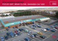 Focus unit, Bran close, swansea sa7 9De - Propex
