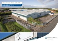 Long Let WAReHoUSe InveStment - Propex