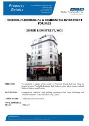 freehold commercial & residential investment for sale 28 ... - Propex