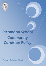 Community Cohesion Policy - Richmond School